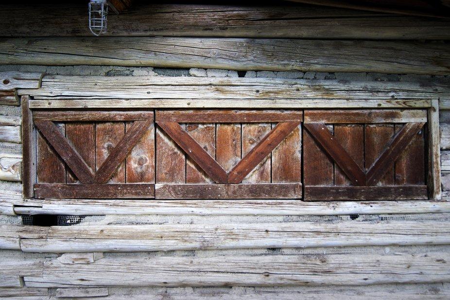Shuttered Cabin