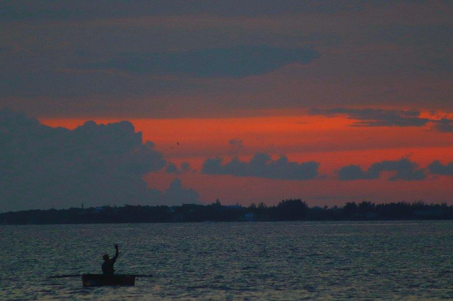 Boyscout Seabase trip Sea of Abaco 2 weeks before Hurrican Dorian