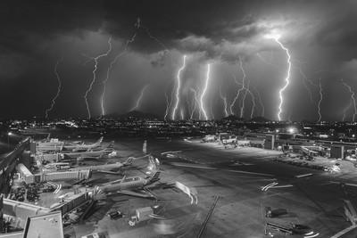 Sky Harbor Lightning