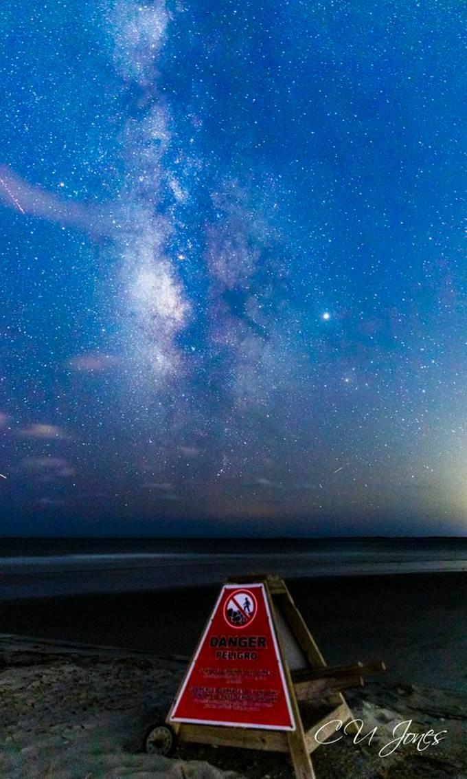 Folly Beach Milkyway