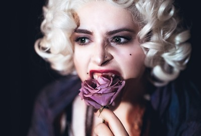 The Purple Rose (a self portrait)