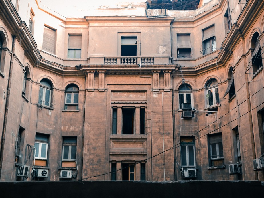Old building, downtown, Cairo