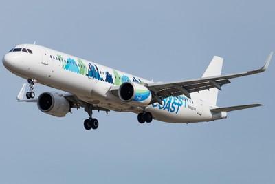 Alaska Airlines Airbus A321 NEO at Los Angeles LAX KLAX