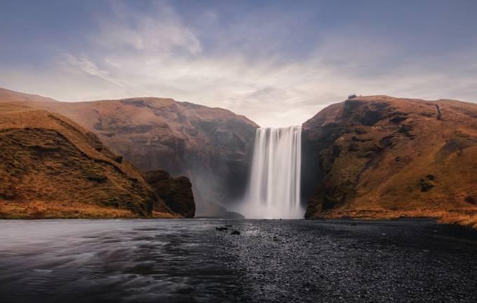 Skógafoss, Iceland. by davidscottrobson - Capture Waterfalls Photo Contest