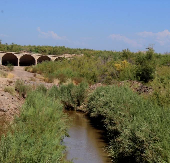 dam and stream