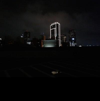 Taken from top of parking garage.