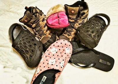 Shoeing Around