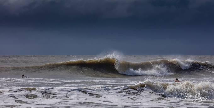 The ocean was showing her power this week in Charleston