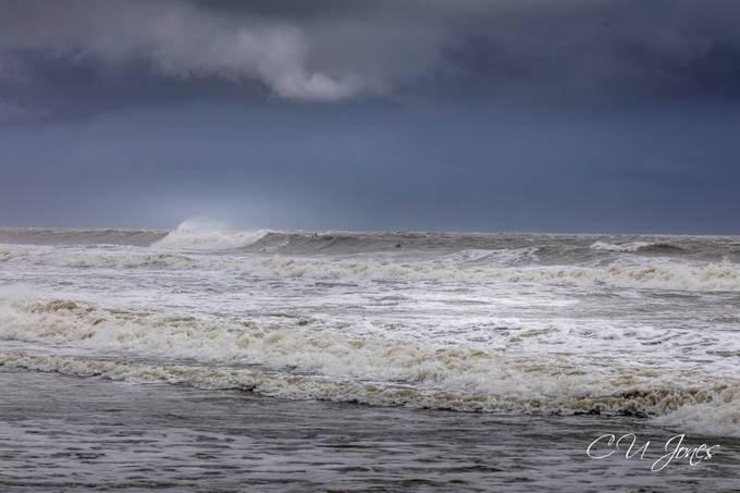 waves from Hurricane Dorian