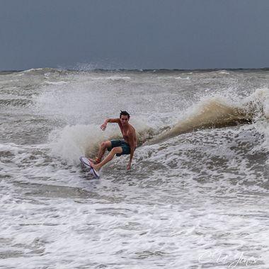 Surfing Pre-Hurricane Dorian