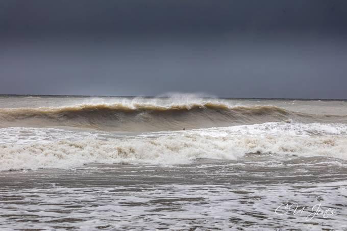 Waves of Folly Beach