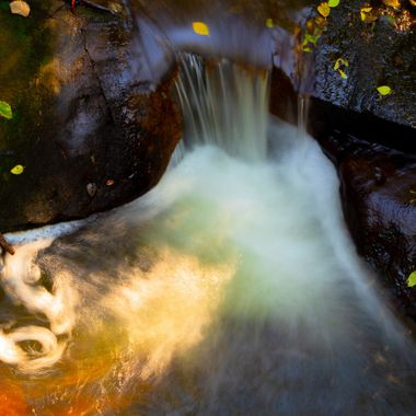 i just liked the look of the colors and shine off the rocks and the water blending in this long exposure