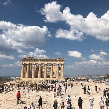 the acropolis Parthenon