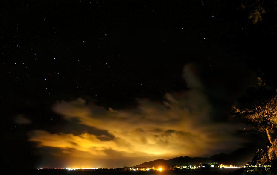 Kauai Airport At Night