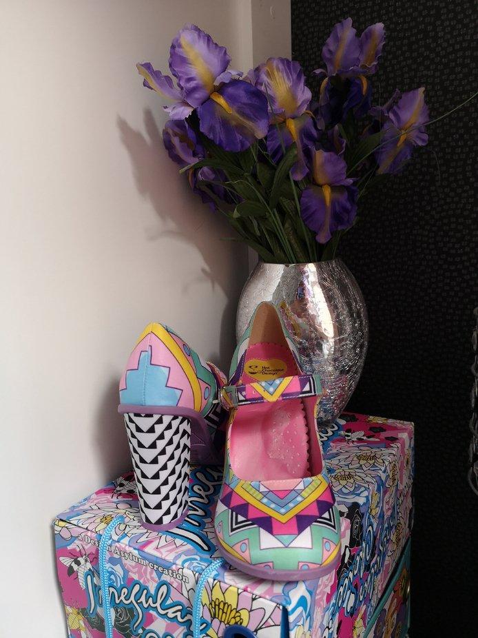 Chocolaticas Hot Chocolate Design shoes