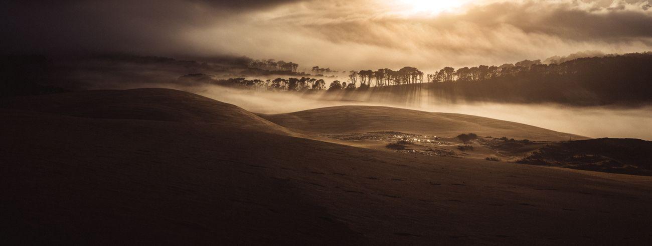 New Zealand giant sand dunes