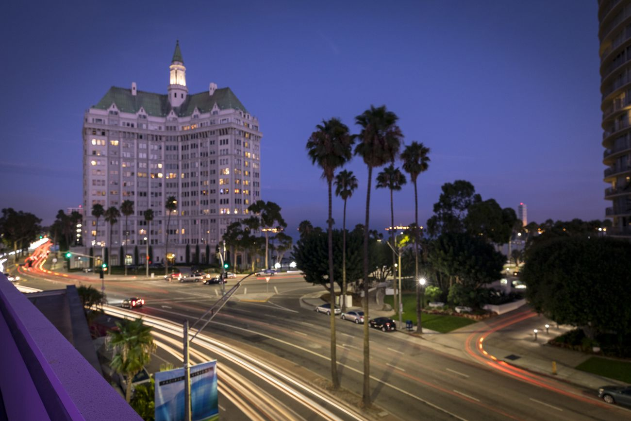 Hotel in Downtown, Long Beach, California