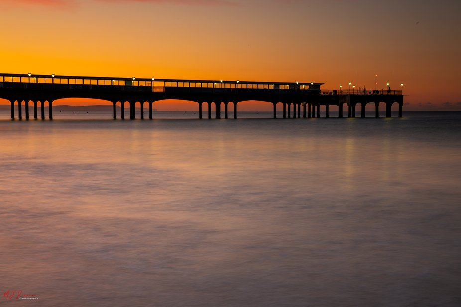 Boscombe pier Bournemouth, this morning I decided to venture across Dorset to this much-photograp...