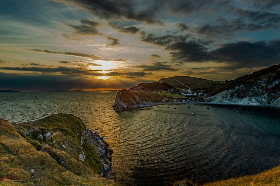 So a good friend and I decided to go out for sunset at Lulworth cove Dorset, the light was lookin...