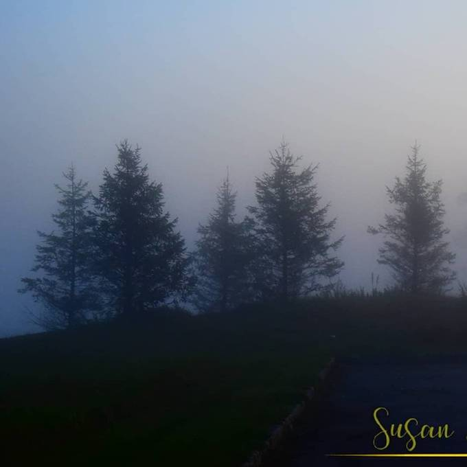 Sunrise on the Kitatinny Mts