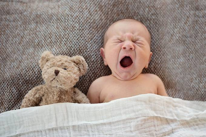 Good Morning, Bear. by inspyred - Capture Babies Photo Contest