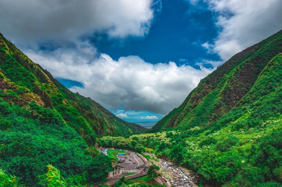 Iao Valley Hawaii