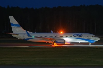Taxiing in the night