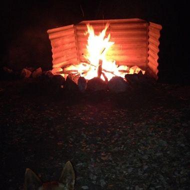 Campfire Ravenswood Queensland Australia