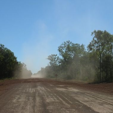 Road to Cape York Peninsula Qld Australia