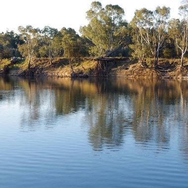 Free camp on Murray River