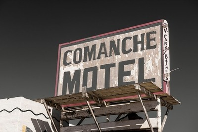 Comanche Motel, Texas Southwest Series .