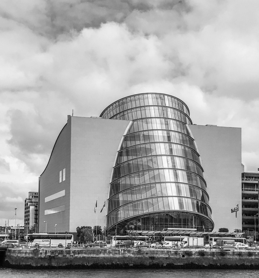 Located on the River Liffey