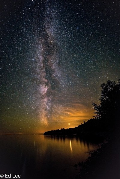 Milky Way image stack