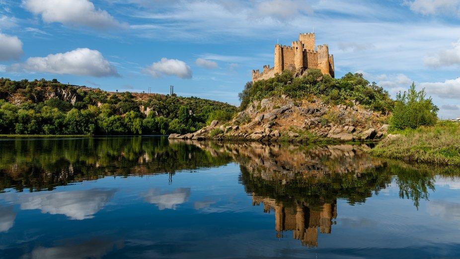 Almourol Castle, Almourol, Portugal
