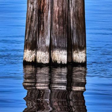 Reflections on Lake Monroe NW