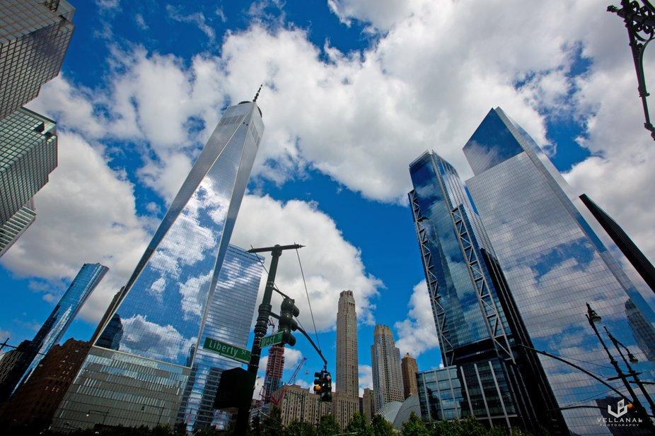 The Wrold Trade Centre, NewYork