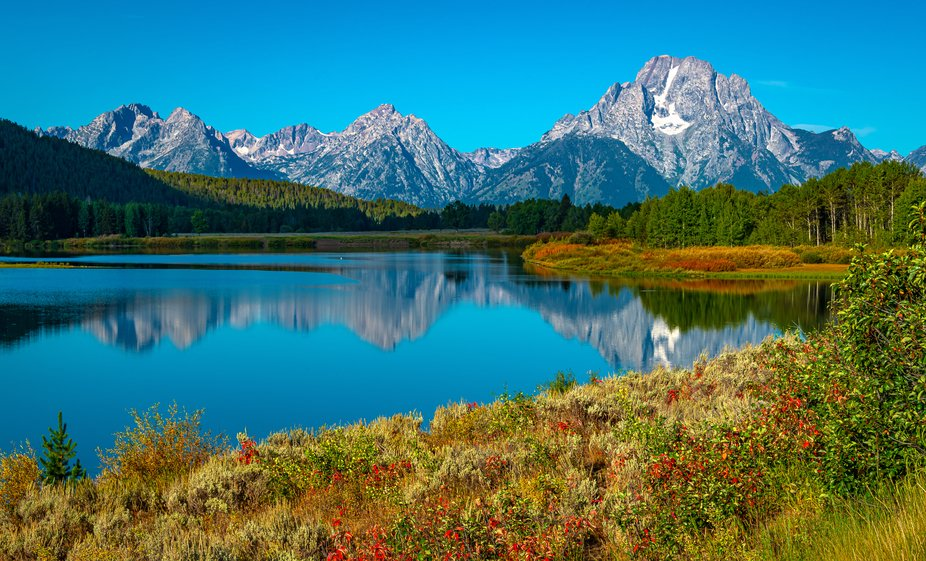 Oxbow Bend (Snake River), Grand Teton National Park, Wyoming.