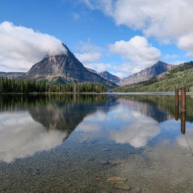 In Glacier National Park