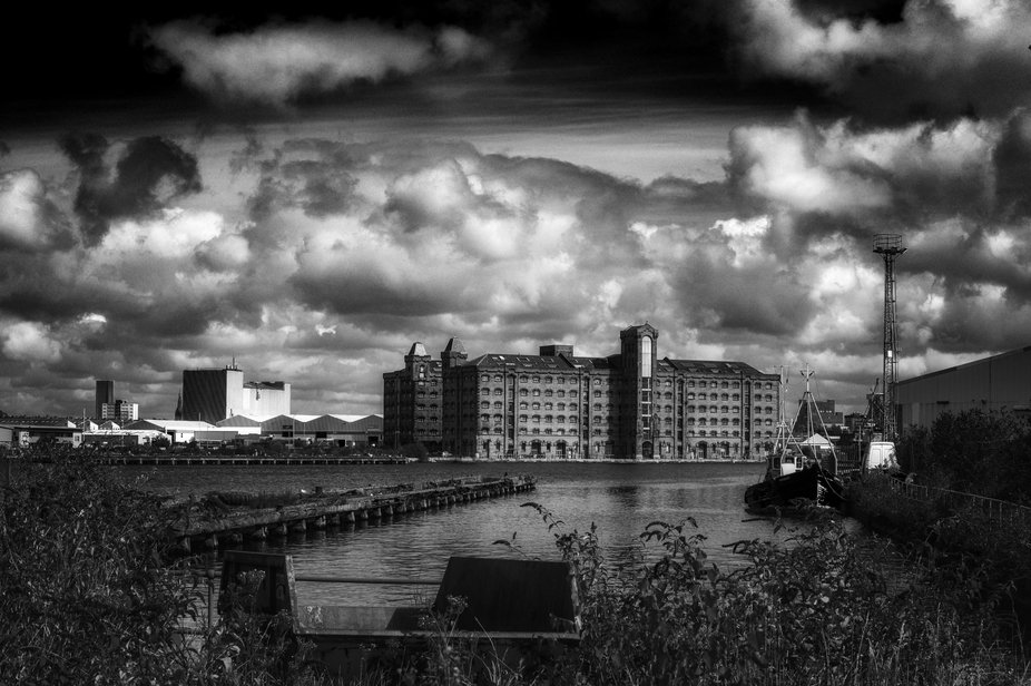 In 1860, The East Float Dock in Birkenhead, UK,  was constructed from reclaimed land as an inland...