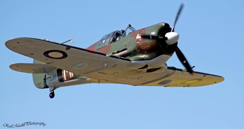 Australian Boomerang Fighter plane.
