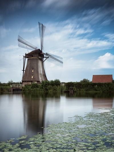 Moulin dans le vent