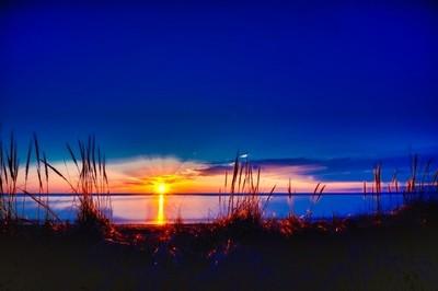 Jenks sunset HDR