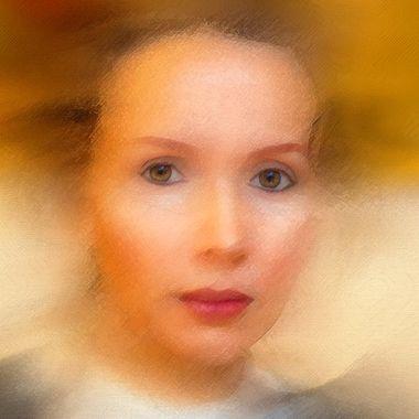 Painting Jurgita's Portrait