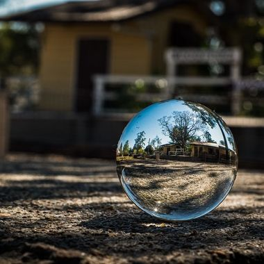 Lensball and all things glass