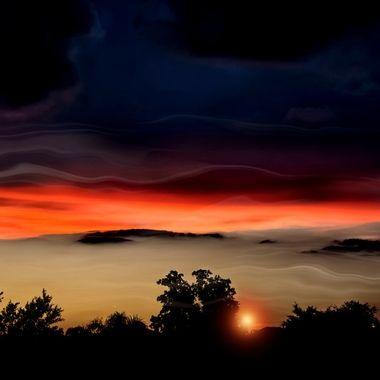Moody Sunset NW