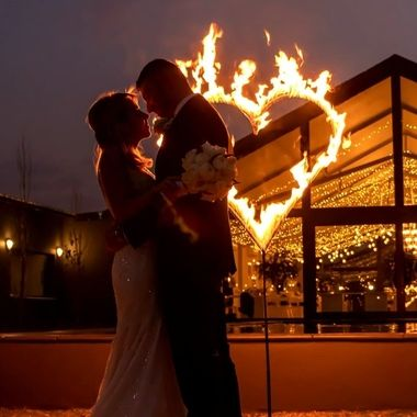 Burning Heart wedding