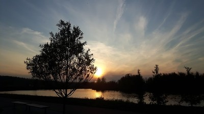 Summer Sunset Northern Alberta