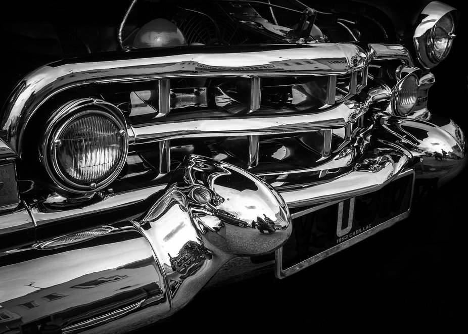 Front end of a caddy