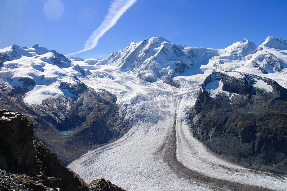 Monte Rosa Glacier, Switzerland
