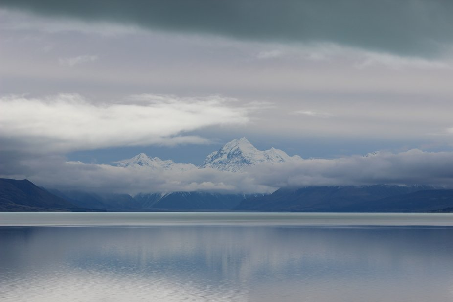 Mount Cook over Lake Pukaki
